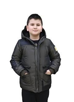 Benitto Kids Benitto Kids Kapüşonlu Erkek Çocuk Kaban